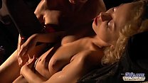 6710 Seductive young babe sex with horny old man. Teen Fucked and cum on face preview