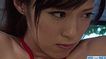 Sara Yurikawa stimulated in kinky bondage porn ...
