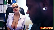 Huge Busty Milf German Interracial Secretary pornhub video