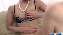Saori Busy With Her Vibrator On Her MILF Pussy - More at javhd.net