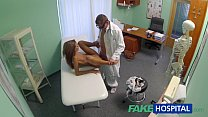 FakeHospital Spying on hot young babe having special treatment preview image