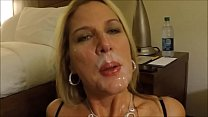 Deepthroat Huge Cock and Cum Swallow