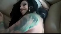 Punk milf enjoy to be fucked hard by a y. big white cock