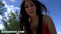 BANGBROS - Latina Valerie Kay's Sexy Big Ass Saves the Day