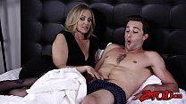 rialityking & Dick riding cougar Julia Ann shows off her big ass and tits thumbnail