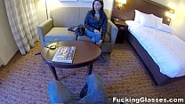Fucking Glasses - Hotel room spy glasses fuck Jade Jantzen teen porn's Thumb