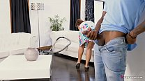 Sizzling MILF Syren De Mer Surprised by BBC boyfriend of daughter