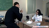 Geeky Schoolgirl Danica Dillon Fucking Her Older Teacher