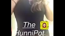 (the hunni pot) horny snapchat hoe with bigtits teasing