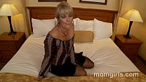 Sexy milf fucking young cock and gets facial thumbnail
