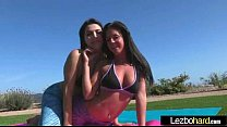 Image: Sex Tape With Naughty Teen Lesbos Girls (Rahyndee & Valentina Nappi) clip-22