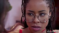 Professor bangs stepdaughter and ebony