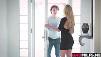 Karter Foxx and Cherrie Deville in a hot 3some sex />