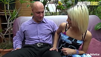 AMATEUR EURO - Alix Feeling & Fabrice Triple X - French Babe Rides Daddy And Tries Also Anal With Him