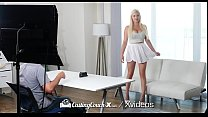 6943 CASTINGCOUCH-X Thick busty blonde fucks casting agent preview