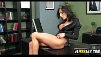 MILF Babe Gets Boss Cock