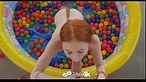 Tiny4K - Tiny redhead Dolly Little has her dripping wet fire crotch fucked thumbnail
