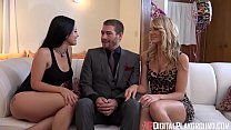 DigitalPlayGround - The Fuck It List Threesome Surprise preview image