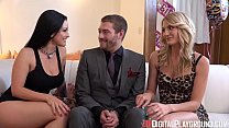 DigitalPlayGround - The Fuck It List Threesome Surprise video