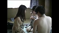 Japanese family threesome (uncensored) pornhub video