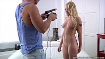 DOUBLEVIEWCASTING.COM - LOLA TAYLOR SQUEEZES HER ANAL MUSCLE