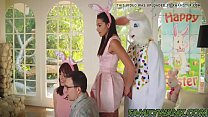 xncams.ml Cute teen Avi surprises easter bunny ... />