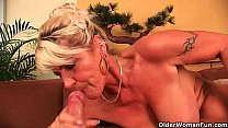 Granny is a squirter Image