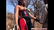 Black sex slave gets tied to tree and spanked b... />                             <span class=