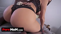 Huge Tits Step Mom Lets Me Fuck Her Ass and Pussy and Swallows all My Cum