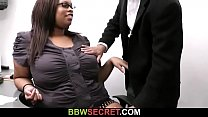 Boss cheats with ebony secretary video