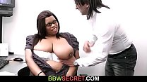 Boss cheats with ebony secretary />
