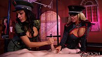 Jamie Valentine & Olivia Fox Enjoy Slave Milking Day
