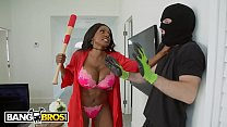 BANGBROS - Diamond Jackson Protects Her Home Fr... thumb