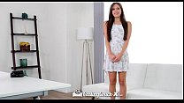 CastingCouch-X - Lucy Doll gets fucked by casting agent in first audition - Download mp4 XXX porn videos