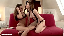 Literary Lovers - by Sapphic Erotica lesbian sex with Judy Amirah Image