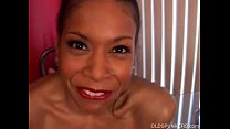 Mature black babe has big tits video