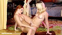 Fingering action on Sapphic Erotica with Rene a...