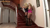 Amazing lesbian pornstars giving joy to each other. - 9Club.Top