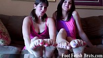 We know our feet make you get all hard