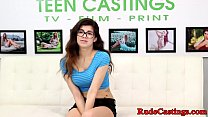 Spex teenie hard screwed at casting audition
