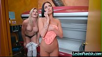 Naughty Horny Lesbians (Cory Chase & Aubrey Rose) Punishing Each Other With Dildos  video-05