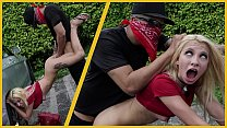 BANGBROS - Bruno Dickemz Smashes Kenzie Reeves's Tight Teen Pussy