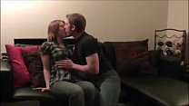 Young Amateur couple sex and creampie