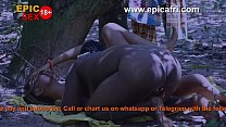 Ebony African Lesbians Play and Squirts in the Farm (trailer)