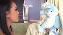 Your Bunny Please - Nacho Vidal plays with the rabbit