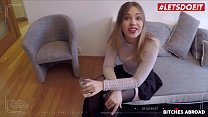 LETSDOEIT - #Selvaggia - Sexy Russian Tourist Gag On Huge Cock And Fucks Hard Abroad