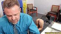 Bambi Brooks gives her dad a hot blowjob Thumbnail