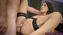 Sexy inventor Valentina Nappi fucks in the pate... Thumbnail