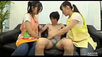 I ejaculated 5 times with this porn. Two teen japanese girls like lick ass, rim threesome.h