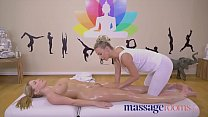 Massage Rooms Sexy Georgie Lyall with big natural tits gets oil massage Preview